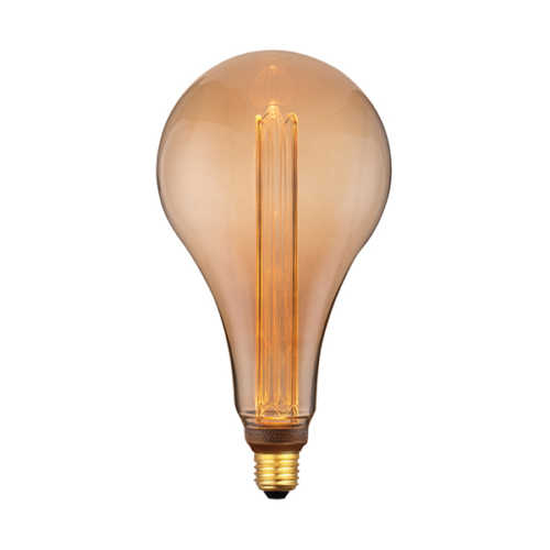 3-standen Peer groot Gold 16,5cm LED E27