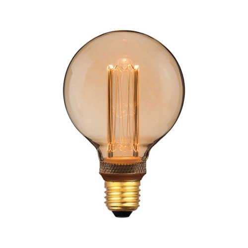 3-standen Bol Gold 9,5cm LED E27