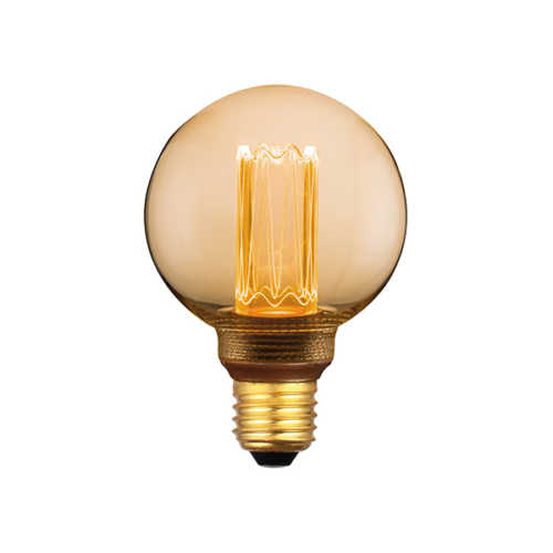 3-standen Bol Gold 8cm LED E27