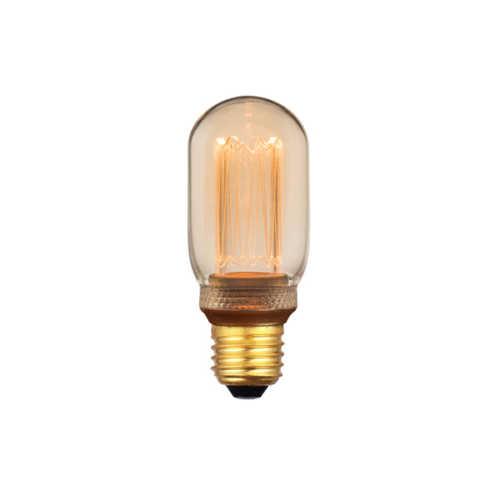 3-standen Buislamp Gold 4x11cm LED E27