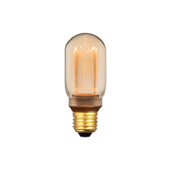 3-standen Buislamp Gold 4x11cm LED E27