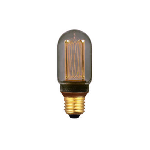 3-standen Buislamp Smoke 4x11cm LED E27