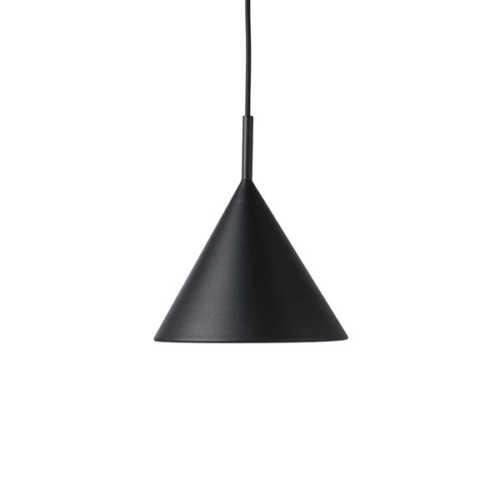 HK Living Triangle hanglamp M - Mat Zwart