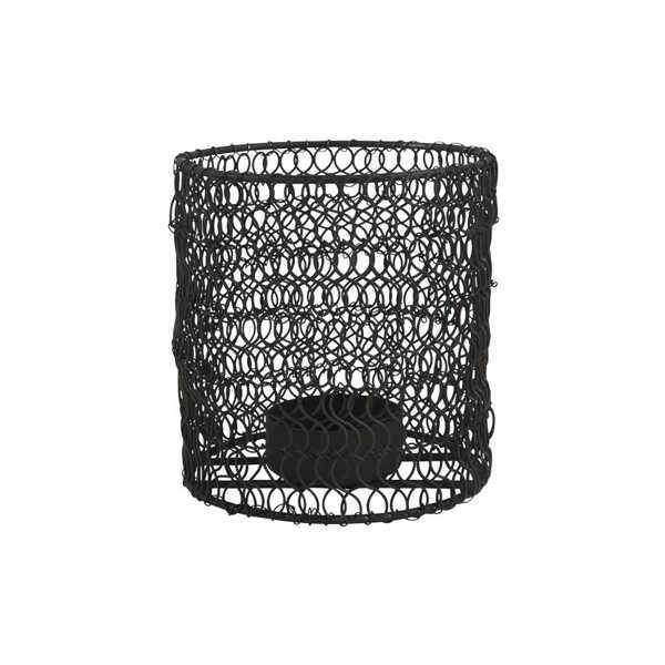 IB Laursen Theelichthouder Wire - Zwart