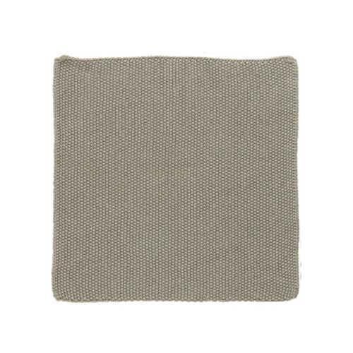 IB Laursen vaatdoekje Mynte - Sand Knitted