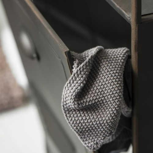 IB Laursen Handdoek Mynte - Sand Knitted