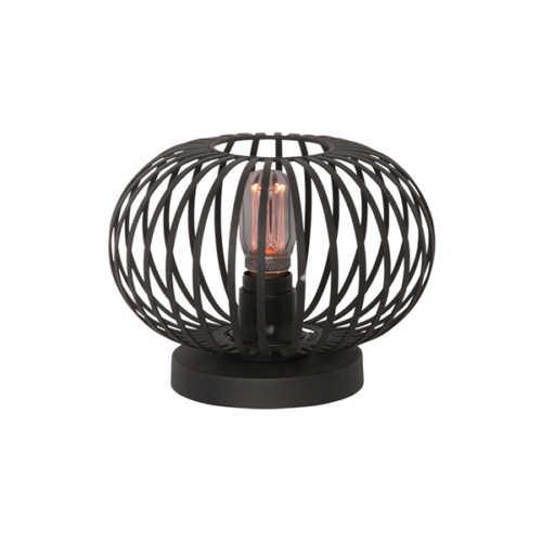 Tafellamp Aglio 25cm - Zwart