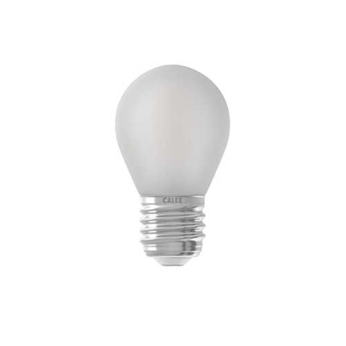 CALEX LED 3-standen Kogellamp Mat 1,3W-5,5W
