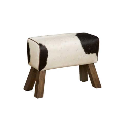 Krukje met koeienprint Zwart/Wit - 42x32x48cm