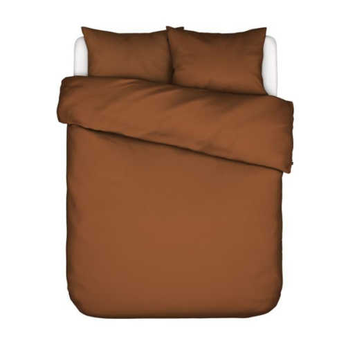 ESSENZA Minte dekbedovertrek - Leather Brown