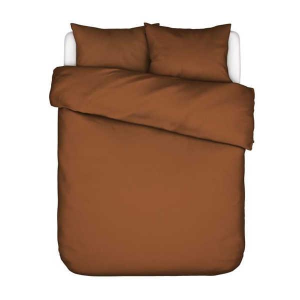 ESSENZA Minte dekbedovertrek - Leather Brown