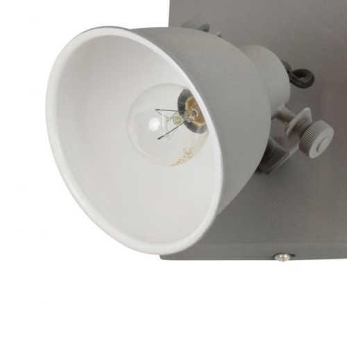 Spot/Plafondlamp industrial 4-lichts vintage grey