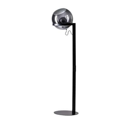 Vloerlamp Orb 165cm - Smoke glas