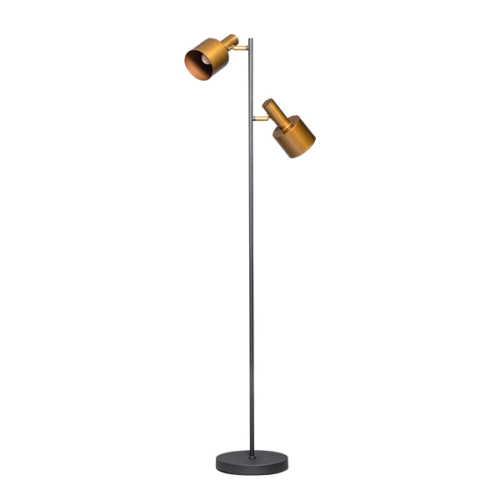 Vloerlamp Sledge 2-lichts - Goud
