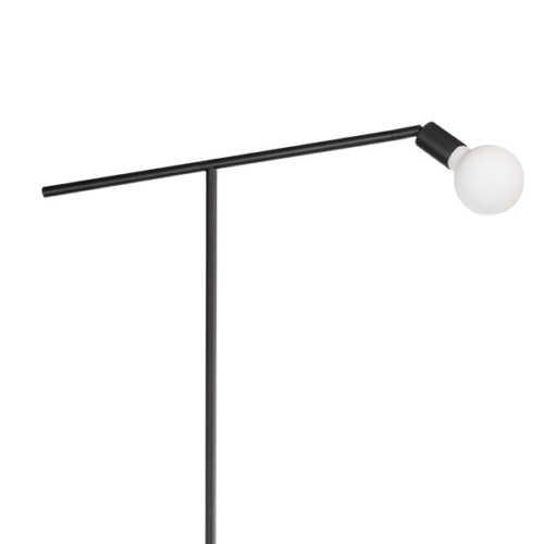 Vloerlamp Mike L 170cm - Zwart