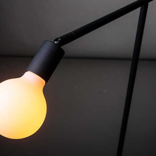 Vloerlamp Mike S 130cm - Zwart