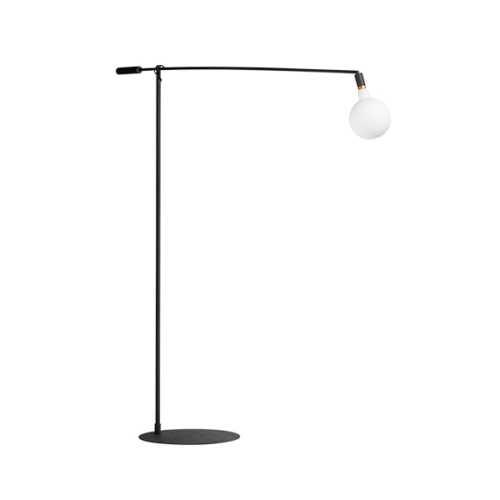 Vloerlamp Mike XL 200cm - Zwart
