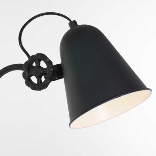 Anne Tafellamp Dolphin - Zwart