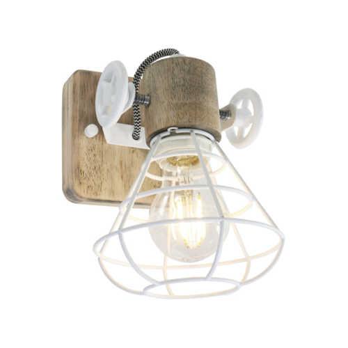 Anne Spot/Wandlamp Geurnesey 1L - Wit