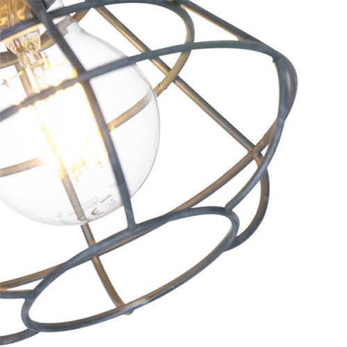 Anne Spot/Wandlamp Geurnesey 2L - Grijs