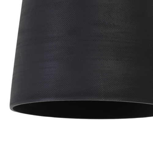 Hanglamp 16x17 cm LILOU mat zwart