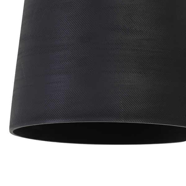 Hanglamp 22x39 cm LILOU mat zwart
