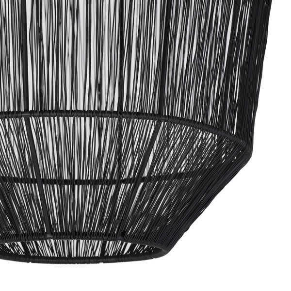 Hanglamp 37x46 cm VITORA mat zwart