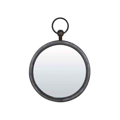 Spiegel 36x42x5cm PURE zink