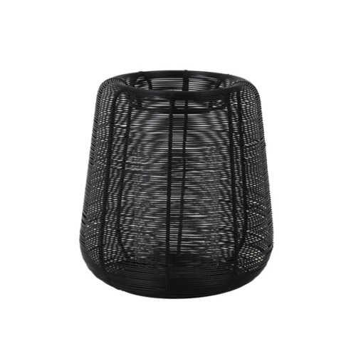 Windlicht 18x20,5 cm ADETA zwart