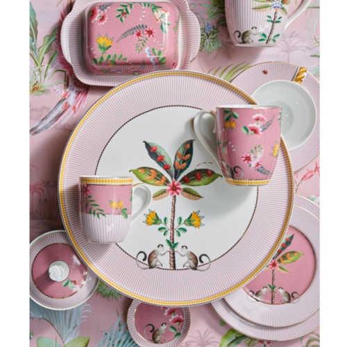 Pip Studio La Majorelle ontbijtbord 21cm - Roze