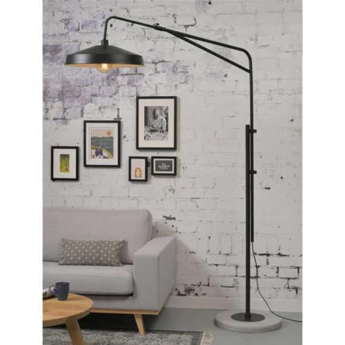 Vloerlamp Brighton - Zwart