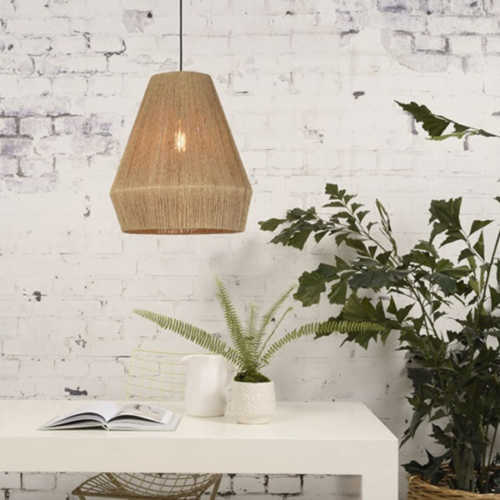 Hanglamp Iguazu jute Naturel - Small