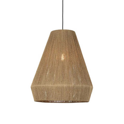 Hanglamp Iguazu jute Naturel - Large