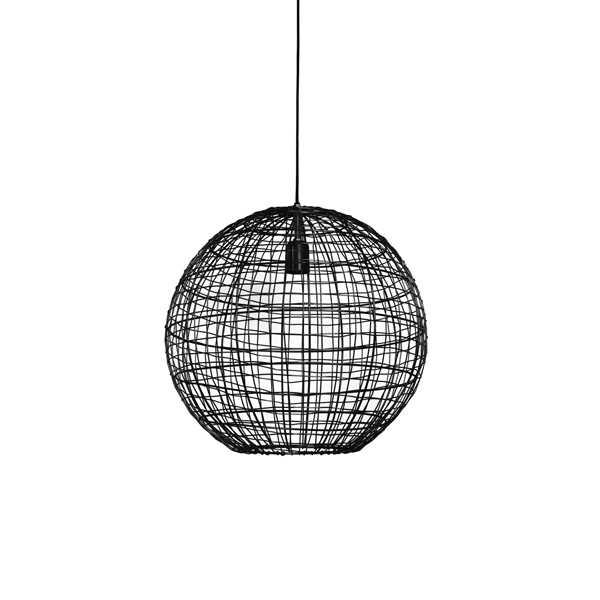 Hanglamp 46x43cm MIRANA - Mat zwart