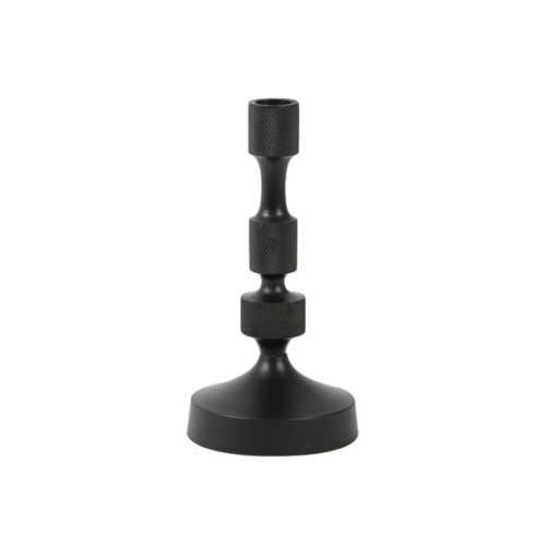 Kandelaar 10x21cm AURIER mat zwart