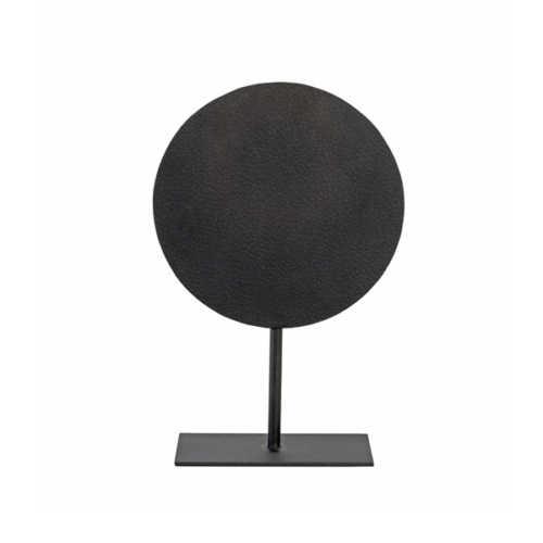 Ornament op voet 25x38cm DASIM - mat lood dots