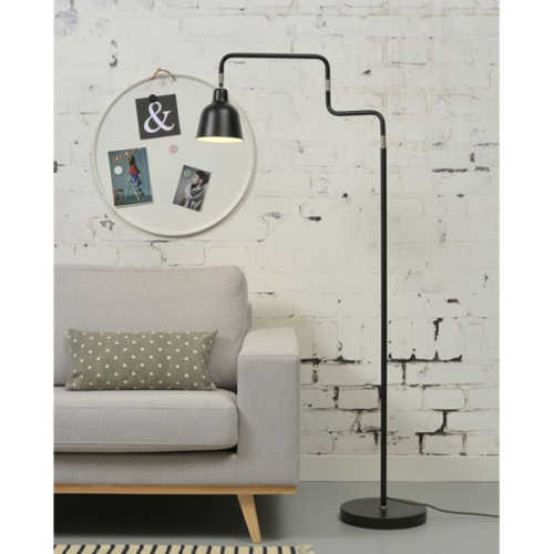 Vloerlamp London - Zwart