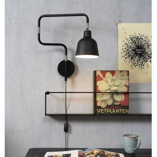Wandlamp London - Zwart