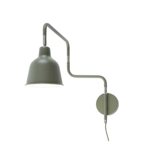 Wandlamp London - Olijfgroen
