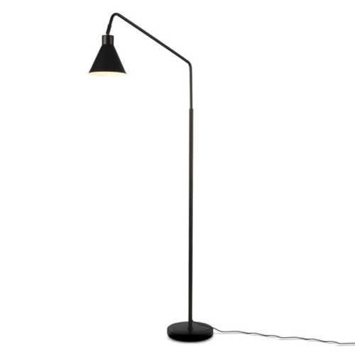 Vloerlamp Lyon - Zwart