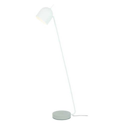 Vloerlamp Madrid ijzer/cement - Wit