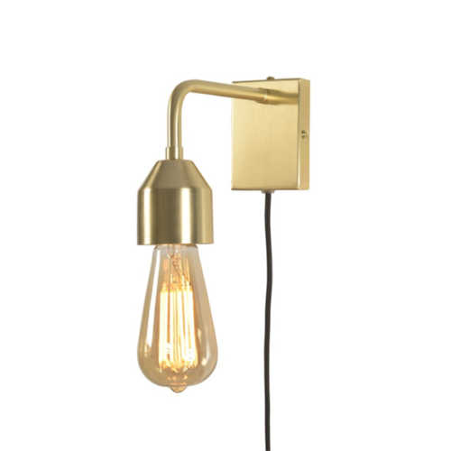Wandlamp Madrid S - Goud