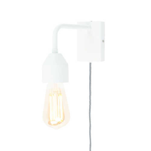Wandlamp Madrid S - Wit