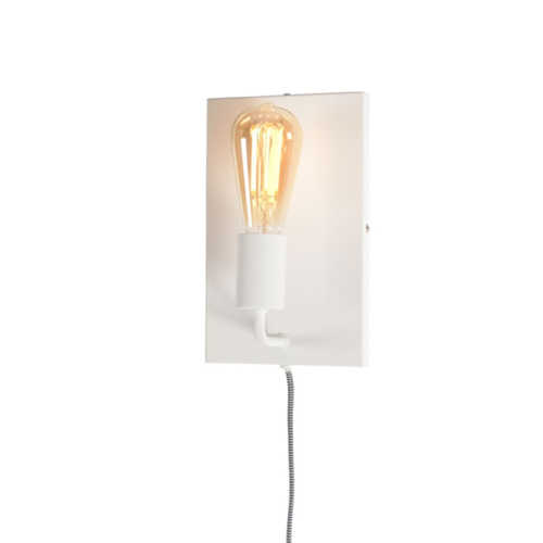 Wandlamp Madrid L - Wit
