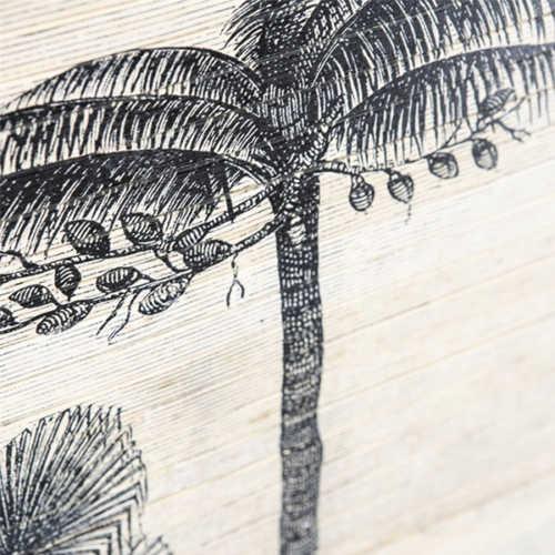Wanddecoratie Morita forest - Large 120cm