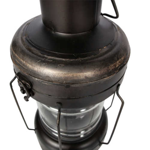 BePureHome Flash lantaarn - Metaal zwart
