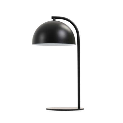 Tafellamp 20x24x43cm METTE - Mat zwart