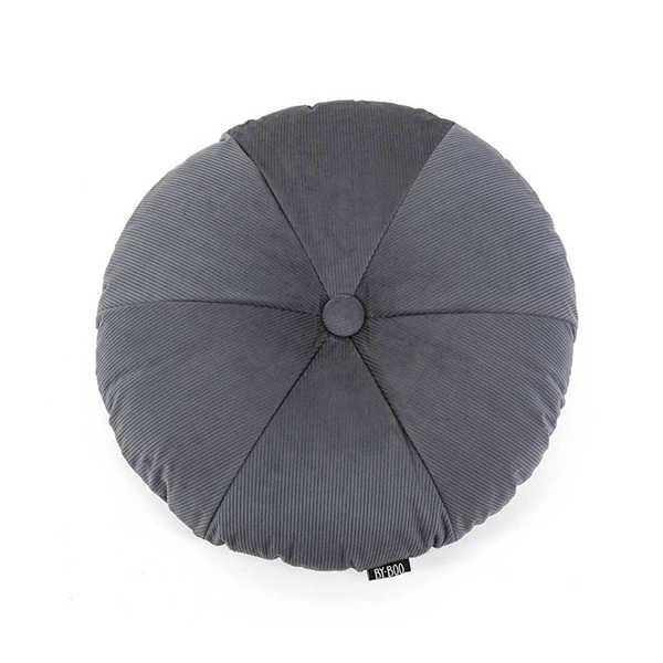 Sierkussen Faith round 50cm - Grey