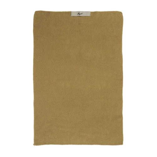 IB Laursen Handdoek Mynte - Mustard