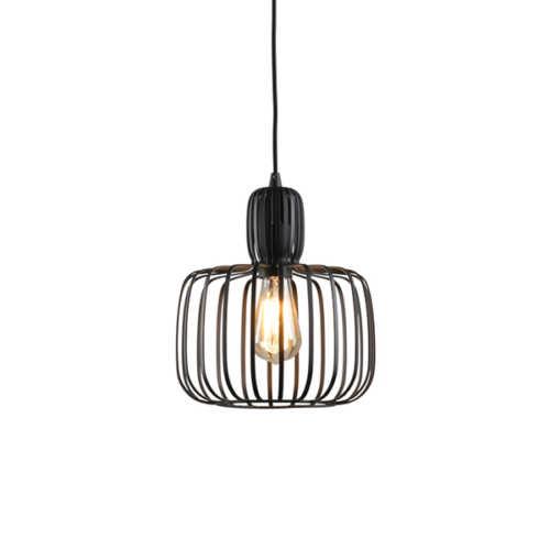 Hanglamp Costola 25cm - Zwart